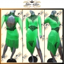 PRECIOSA STONE CUSTOM DESIGNED LATIN RHYTHM SALSA COMPETITION DANCE DRESS VL583