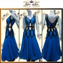 PRECIOSA STONE CUSTOM DESIGNED BALLROOM RHYTHM STANDARD DANCE DRESS (ST336)